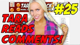 TARA PEPDICK! - TARA READS COMMENTS! #25
