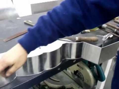 Fabricacion de la letra o en aluminio doovi - Fabricacion letras corporeas ...