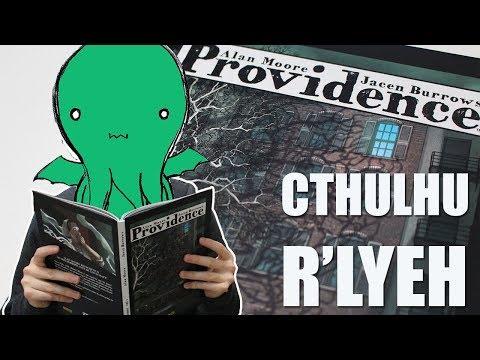 Providence, Alan Moore e o horror inominável de Lovecraft