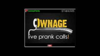 COMEDY DEPOT: Ownage Pranks - angry Asian prank call - Short clip 1