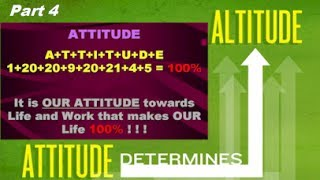 Does Your Attitude Determine Your Altitude part 4 - The Law Of Attraction