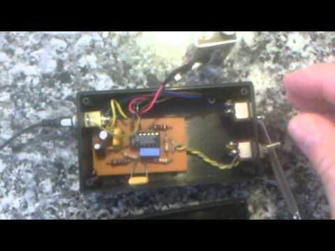 Detector magnético,electromagnético y radio.