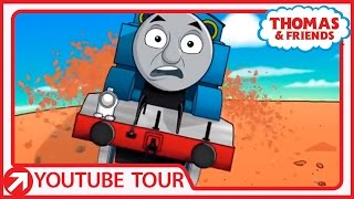 Thomas Runs into Trouble in the Monument Valley | YouTube World Tour | Thomas & Friends
