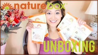 NatureBox Unboxing | VEGAN EDITION