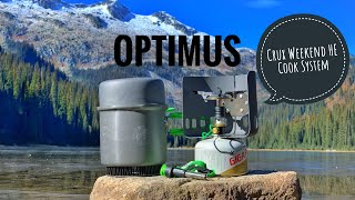 Optimus Crux Weekend HE Cook System | Review and Boil Test