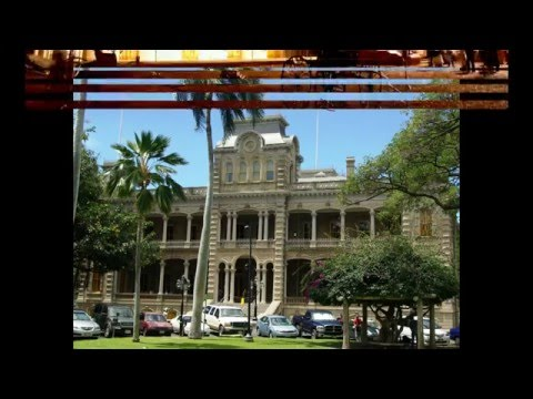 The Iolani Palace was the royal residence of the rulers of the Kingdom of Hawaii