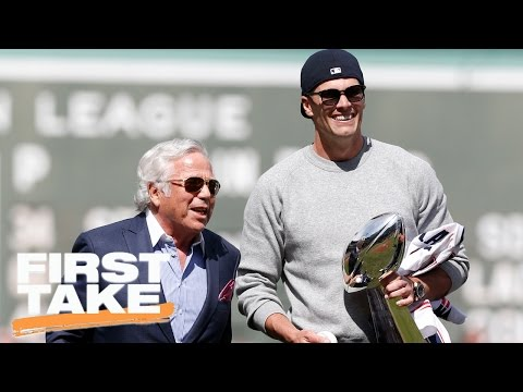 Max Kellerman Dismissive Of Kraft's 'Jealousy' Claims | First Take | May 4, 2017