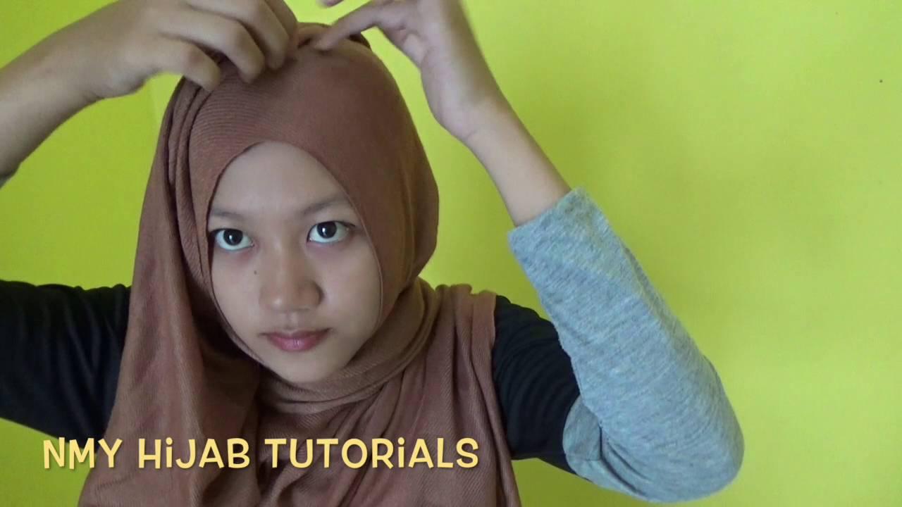 Tutorial Hijab Pashmina Pesta Tanpa Ninja Simple NMY Hijab