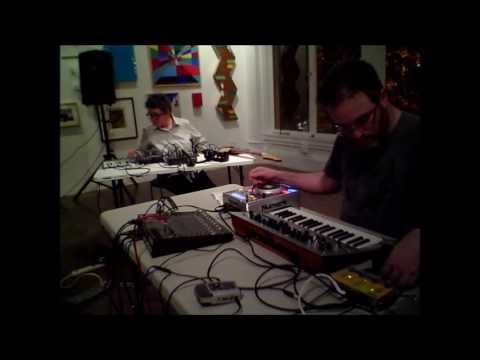 Suki O'Kane & Matt Davignon at the Luggage Store Gallery, 6-2-2016