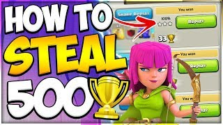 How I Stole 500+ Trophies in 16 Hours! This TH9 Attack Strategy Cannot Lose in Clash of Clans