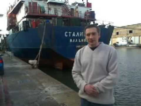 Chief mate of stranded Stalingrad thanks people of Liverpool