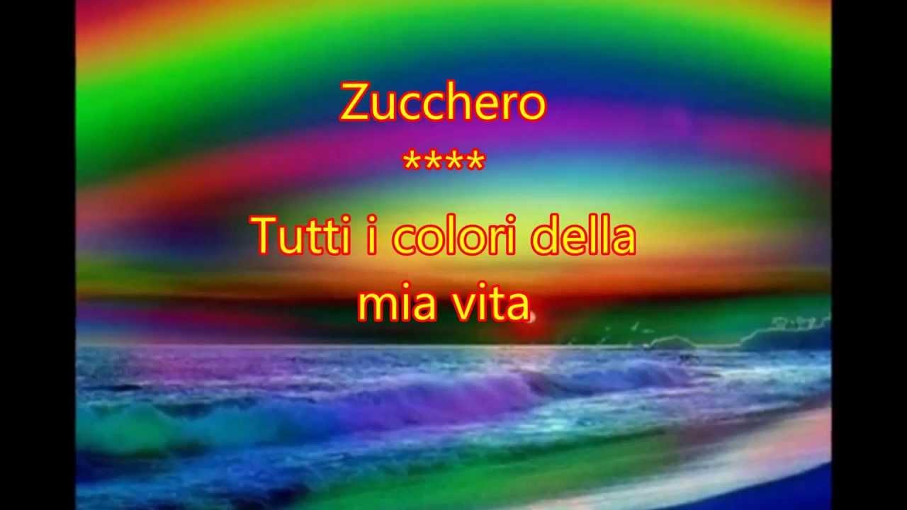 Zucchero  Tutti i colori della mia vita  YouTube