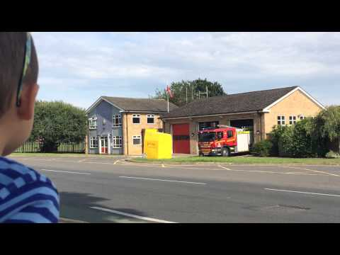 Driffield Fire Station turnout
