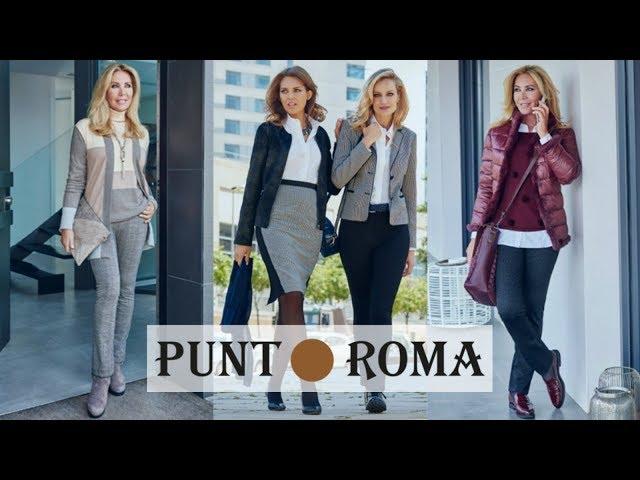 Moda de PUNT ROMA | Tendencias Otoño Invierno 2018 2019 | Nueva Colección de ROPA de Mujer 50 años