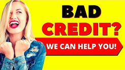 Loans For People With Bad Credit or No Credit - Here's How 2019