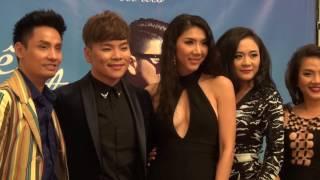 Siêu mẫu Ngọc Quyên tham dự ra mắt CD ca sĩ Tân Hy Khánh tại California, Nov 17-2016