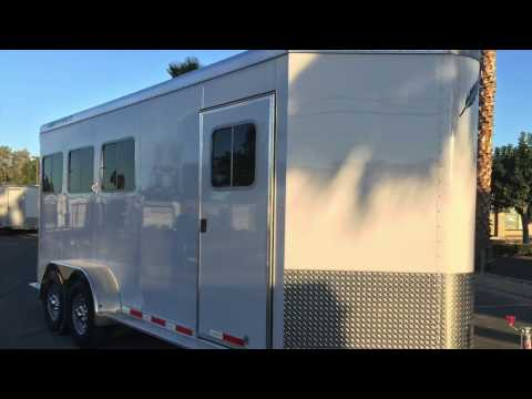 Brand New Featherlite 9409 3 Horse Slant Trailer