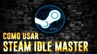 Como usar o Steam Idle Master (drop de cards automático)