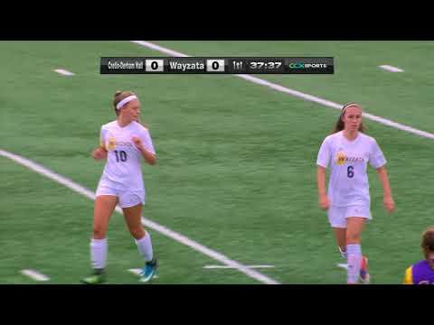 Cretin-Derham Hall vs. Wayzata Girls Section Soccer