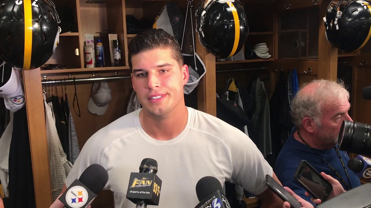 Steelers Qb Mason Rudolph 9 9 19 Steelers Now Youtube