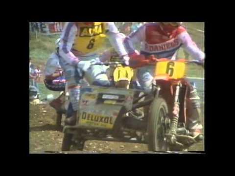 Bächtold / Fuss Sidecar Motocross World Championship Wohlen 1986