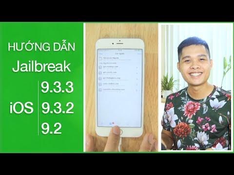 Jailbreak iOS 9.3.3, 9.3.2, 9.2-Chỉ 3 Bước đơn giản  không cần máy tính (link cập nhật ở mô tả)