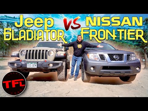 Off-Road Showdown: 2020 Nissan Frontier Pro-4X Vs Gladiator Rubicon - Is Nissan's New V6 Enough?