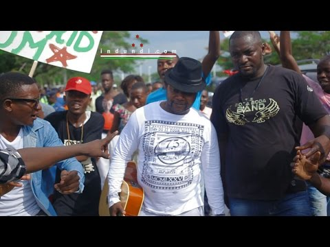 Indundi Tv #hits News | Kidum arrived back in Burundi to a hero's Welcome (Dec 27 2016)