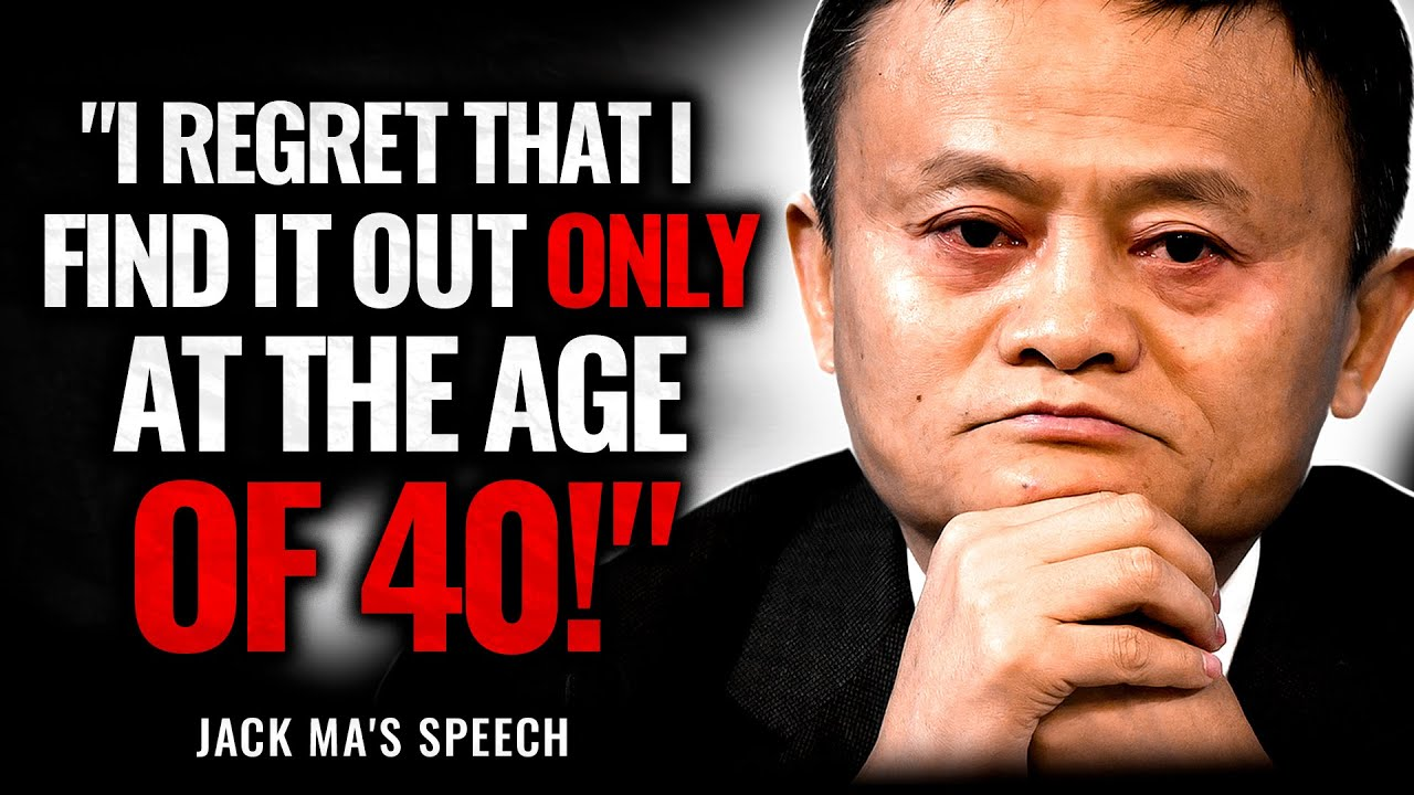 Jack Ma Leaves the Audience SPEECHLESS | Jack Ma's Advices for young People