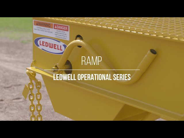 Ledwell Operational Series - Loading Ramp