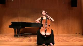Britten Cello Suite No. 1: Fuga and Lamento