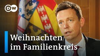 Weihnachtsfest im Familienkreis möglich | Interview mit Tobias Hans, Ministerpräsident Saarland
