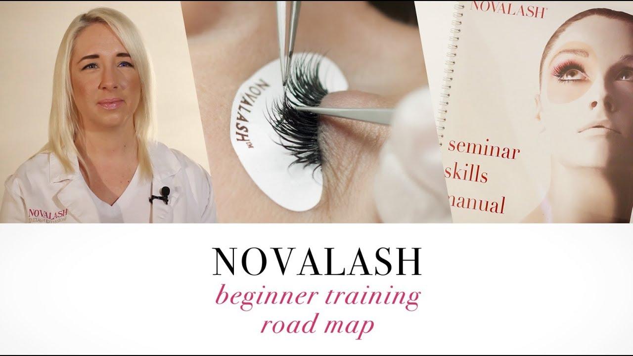 Novalash Beginner Training Road Map Youtube