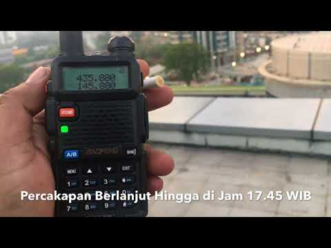 #2yearsIO86 Tracking Voice Repeater Satelit LAPAN-A2/IO-86 on 9th Floor