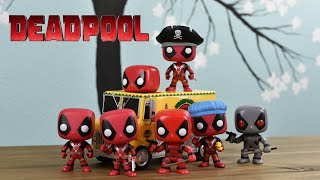 DEADPOOL Funko Pops - We Are Unboxing Them ALL!
