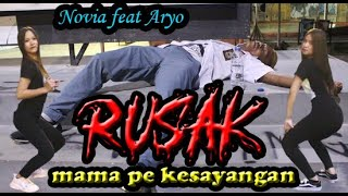 Rusak Mama Pe Kesayangan Novia Feat Aryo Ll Stanleystudiorec