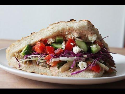 Gemüsedöner (Rezept) || Vegetable Kebab (Recipe) || [ENG SUBS]