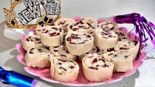 Cranberry Feta Pinwheels - New Years Eve Appetizer