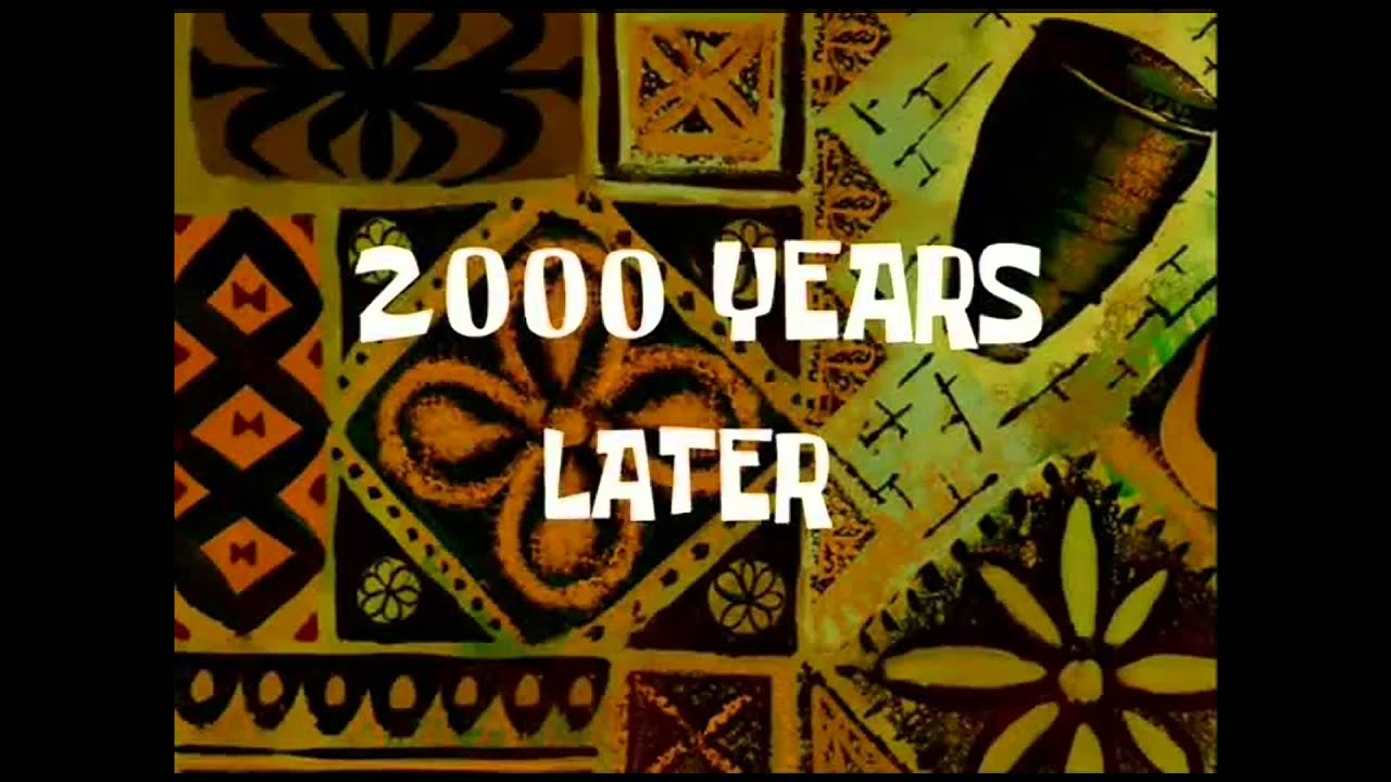 Years 5 Spongebob Later