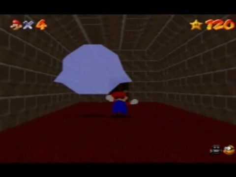 Playing after Dark in <b>Super Mario 64</b> (<b>Gameshark Code</b>) - YouTube
