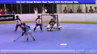 GB Reds U12's V USA Northwest 02's