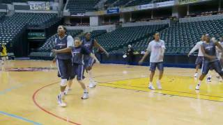 Into The Action - Indiana Fever