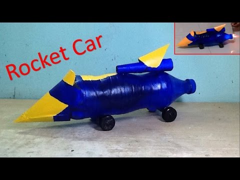 How To Make Rocket Car - High Speed And Can Fly Too