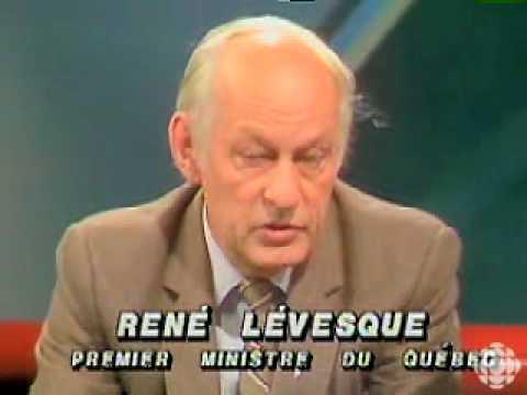 René Lévesque parle de Pierre Elliott Trudeau