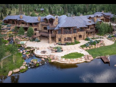 Spectacular $28 Million 24,400 SQ. FT. 10 Bedroom 19 Bathroom Home on 350 Acres in Colorado USA