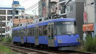 世田谷線 下り列車の携帯マナー放送(下り西太子堂発車) thumbnail