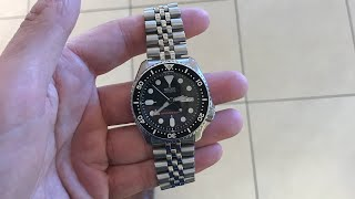 Here's why you need a seiko Skx007 on a Seiko Jubilee bracelet!