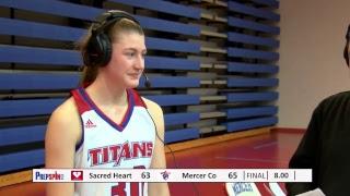 #3 Sacred Heart at #1 Mercer County - Girls HS Basketball thumbnail