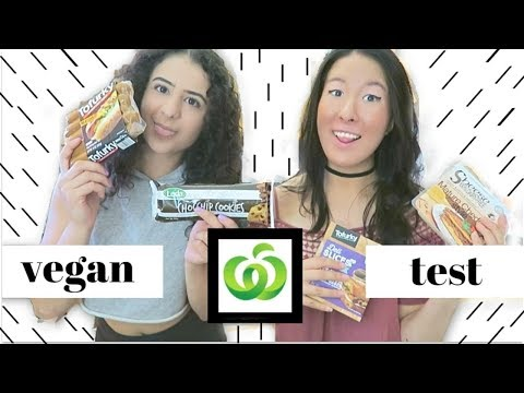 NEW VEGAN WOOLWORTH'S TASTE TEST