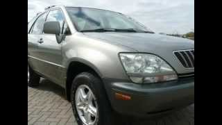 2001 Lexus RX 300 SUV 4WD SUNROOF TIMING BELT DONE (Naperville, Illinois)
